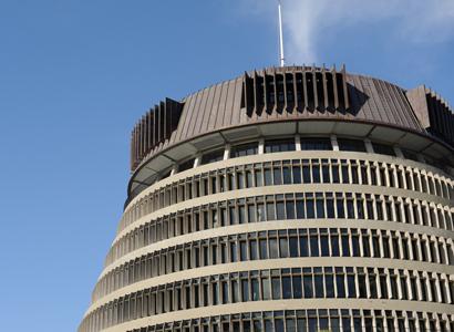 New Zealand Parliament Building 411