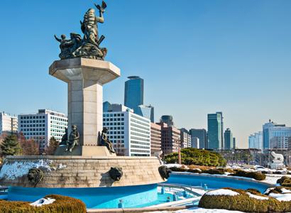 Seoul fountain 411