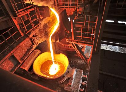 Molten steel 411