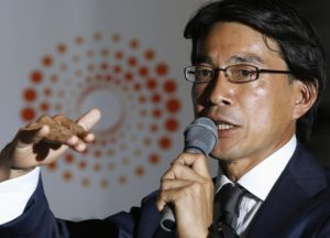 Photo of KKR Japan CEO Hirofumi Hirano in story about private equity finance business in Asia
