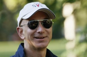Amazon CEO Bezos