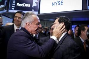 First Data Corp, IPO, KKR, Joe Plumeri, Frank Bisignano