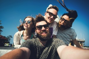 hipsters, millennials, young people, young men, young women, shutterstock_260752652