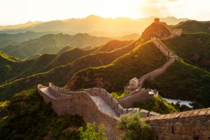 ShutterStock photo of Great Wall of China