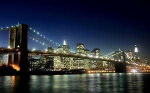 bridge, New York, Manhattan