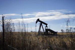 Oil well, pump jack