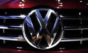 A Volkswagen symbol