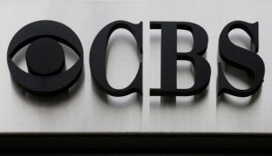 CBS Network log and sign