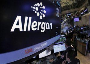Allergan ticker info and symbol