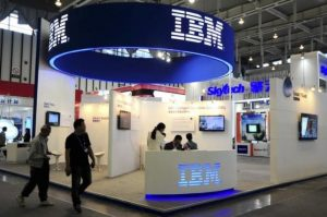 IBM conference booth