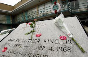 MLK memorial plaque