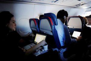 tightened flight security - laptops