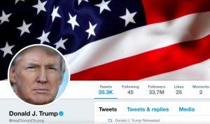 Trump's Twitter account