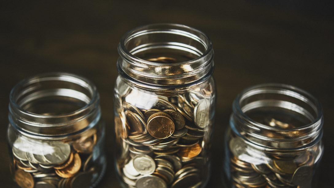 jars of money