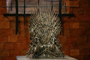Photo of the Iron Throne from Game of Thrones courtesy REUTERS/Phil Noble