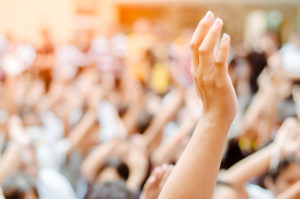 Raising Hands for Participation,Vote,