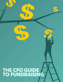 The CFO Guide to Fundraising Cover