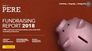 PERE Annual fundraising report 2018
