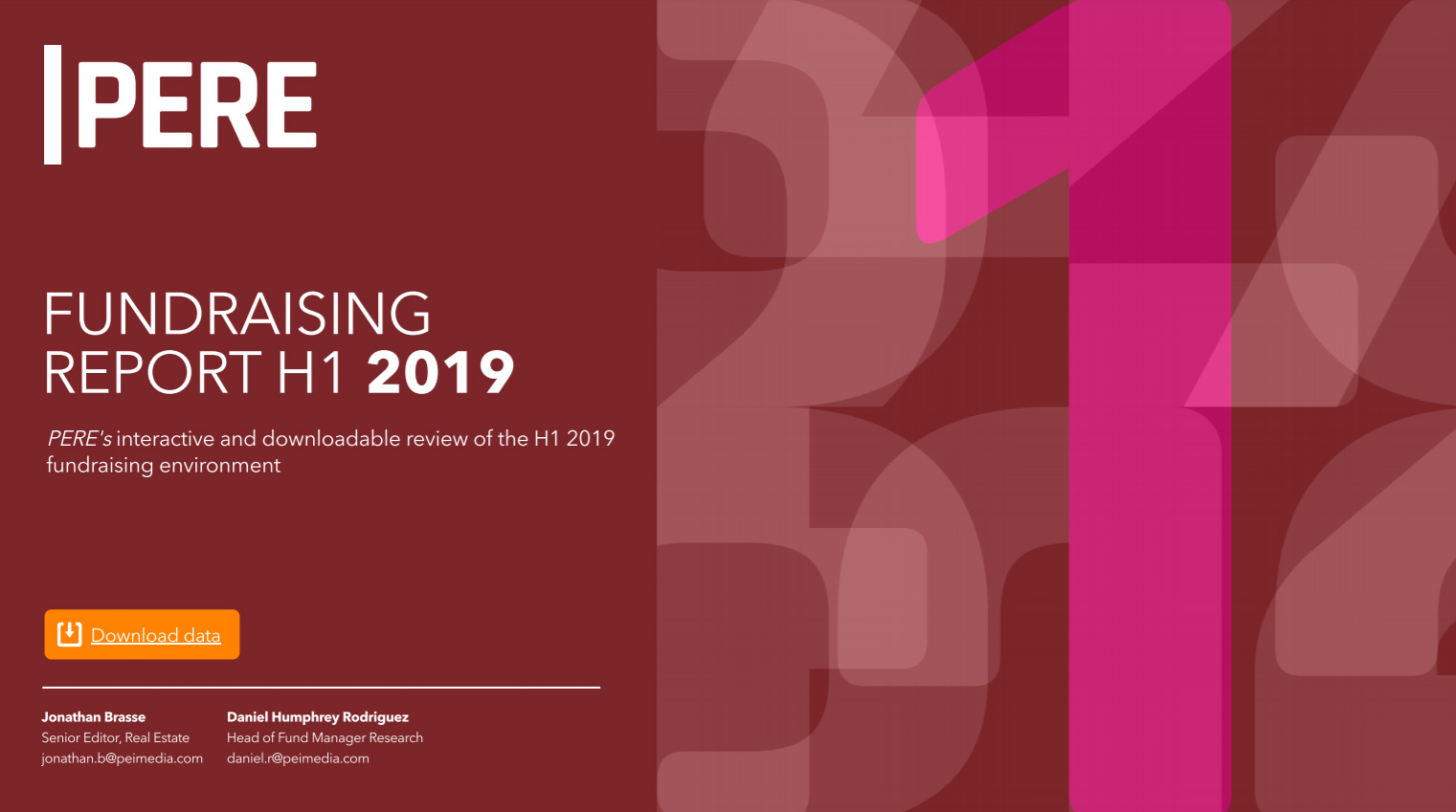 PERE Fundraising Report H1 2019