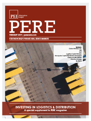 The PERE0219-Logistics-digital Cover