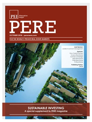 The PERE1018-Sustainability-digital Cover