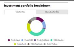 TCDRS full investment portfolio PEI