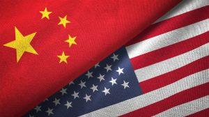 China, U.S., Chinese flag