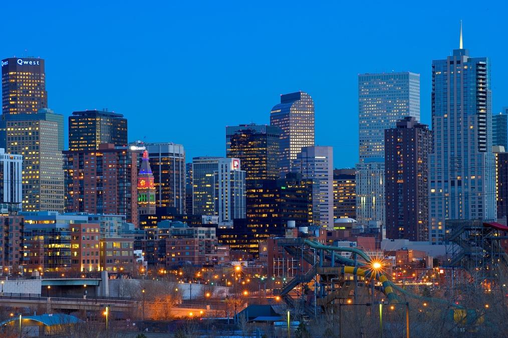 Denver, Denver skyline