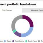 Investment portfolio breakdown of DPERS