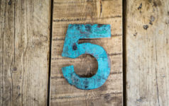 the number five