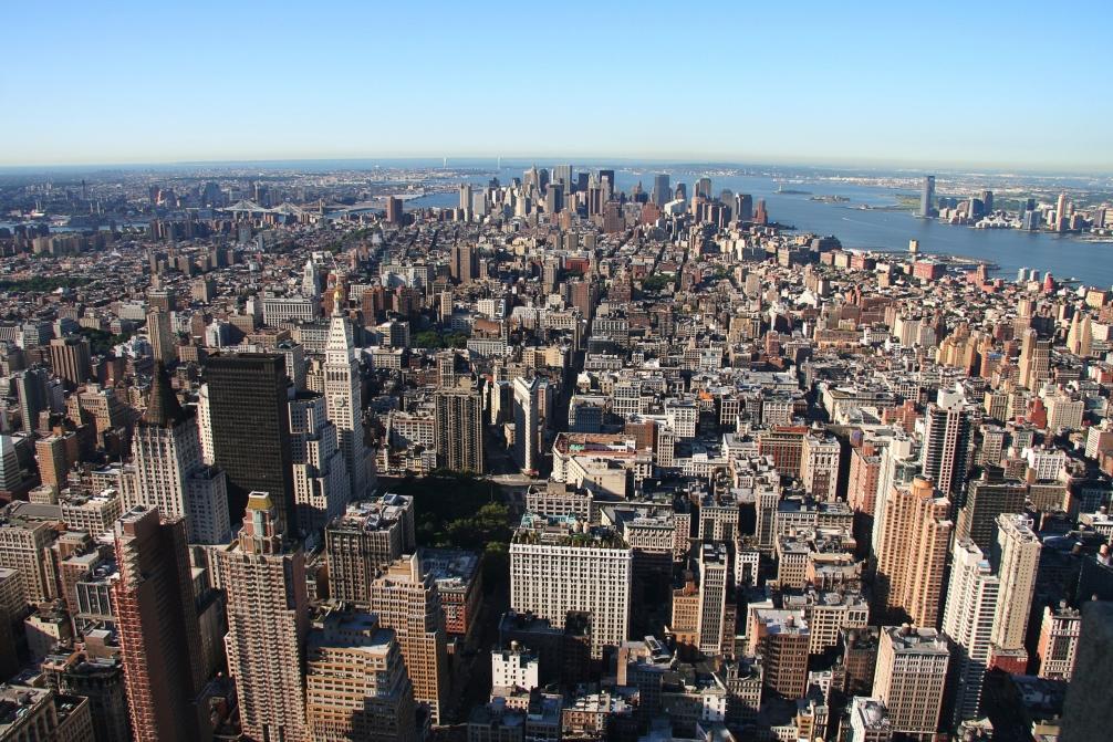 New York, Manhattan, skyline
