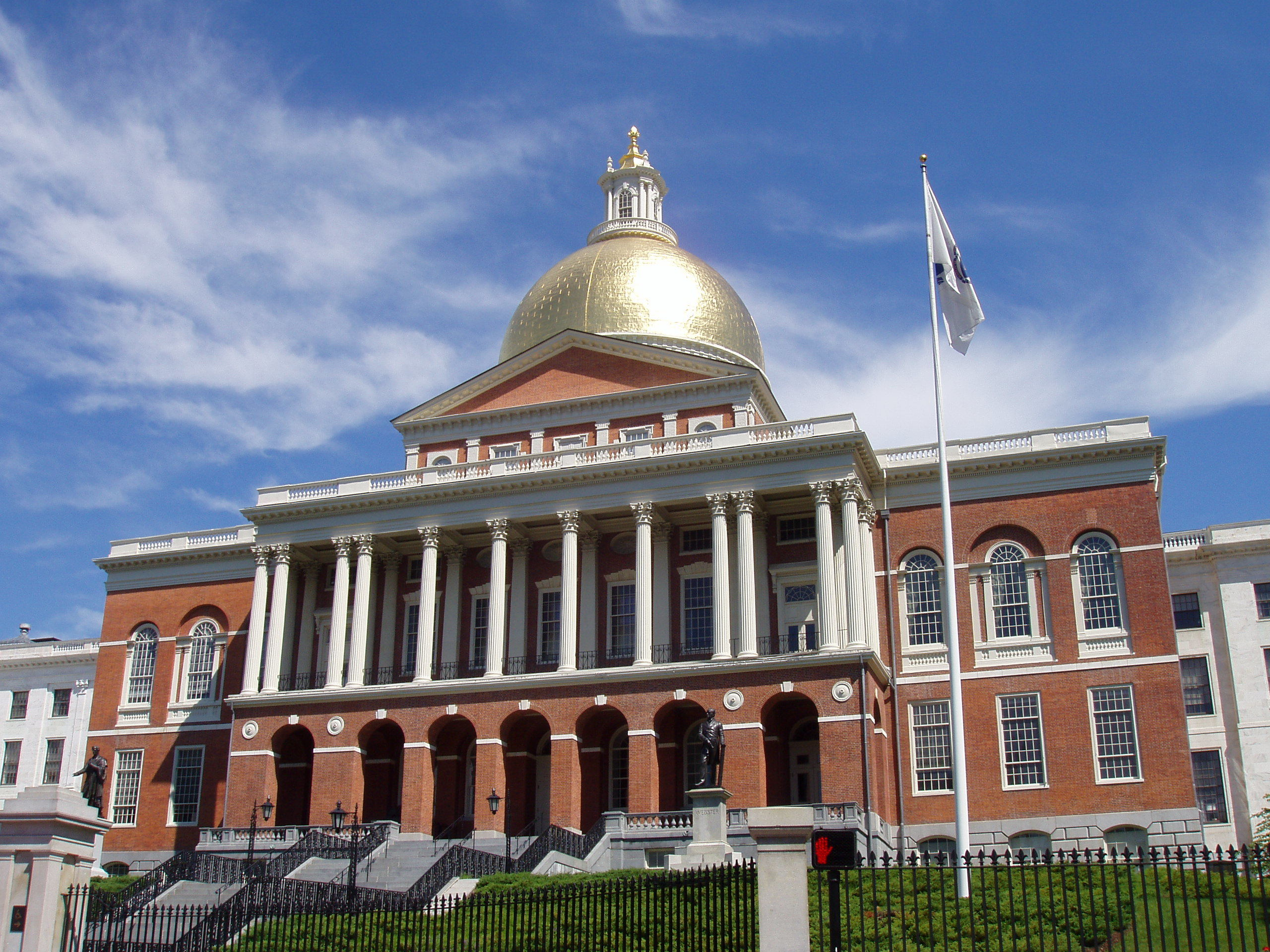 Massachusetts, state house, Boston