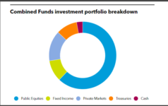 MinnesotaSBI's Combined Funds' investment portfolio breakdown