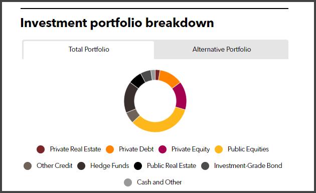 TCDRS Full Investment Portfolio