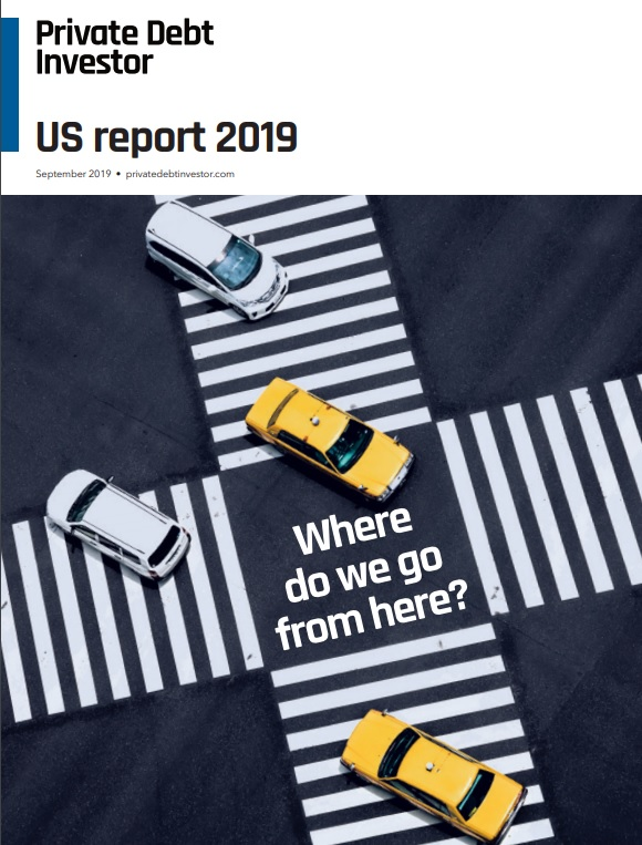 The Private Debt Investor – US Report 2019 Cover