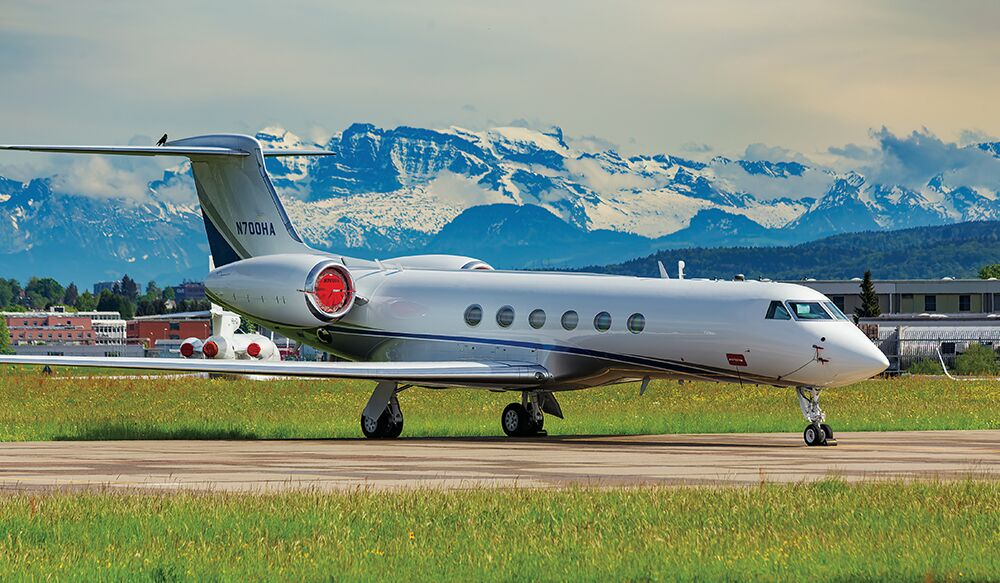 Colony Private Jet