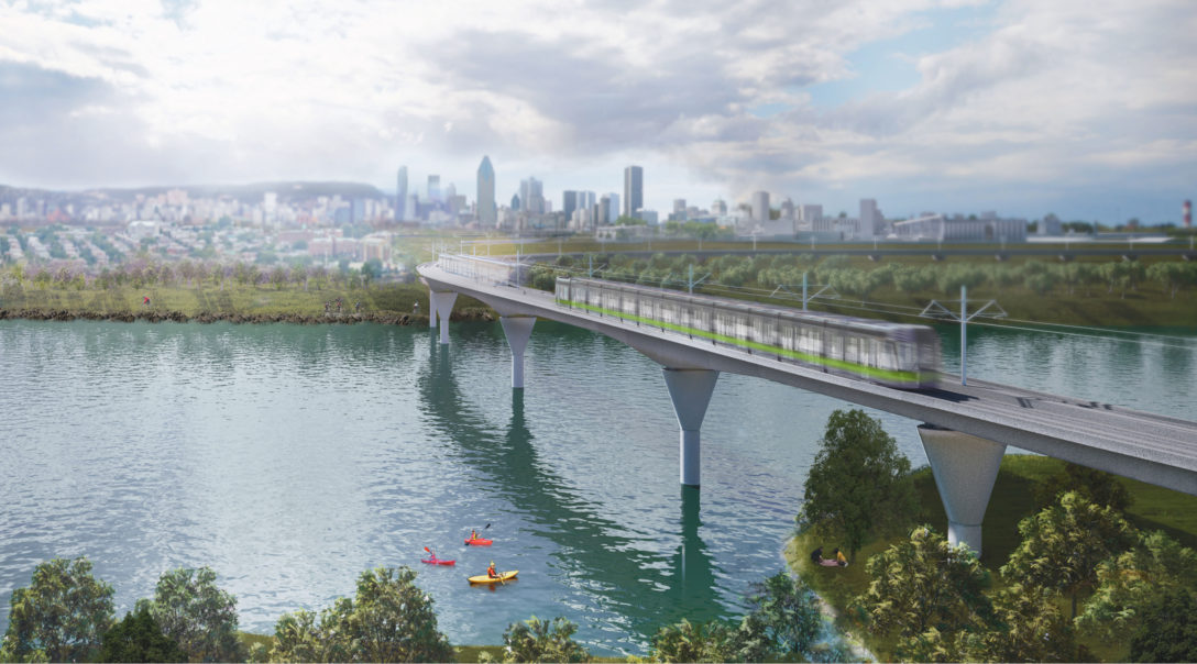 REM - Light rail - Montreal