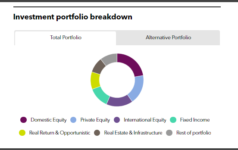 SMRS' investment portfolio breakdown