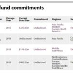 Recent PE fund commitments of Loreal