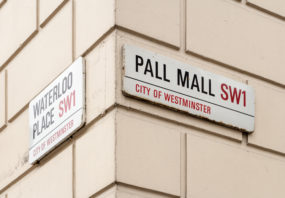Pall Mall London