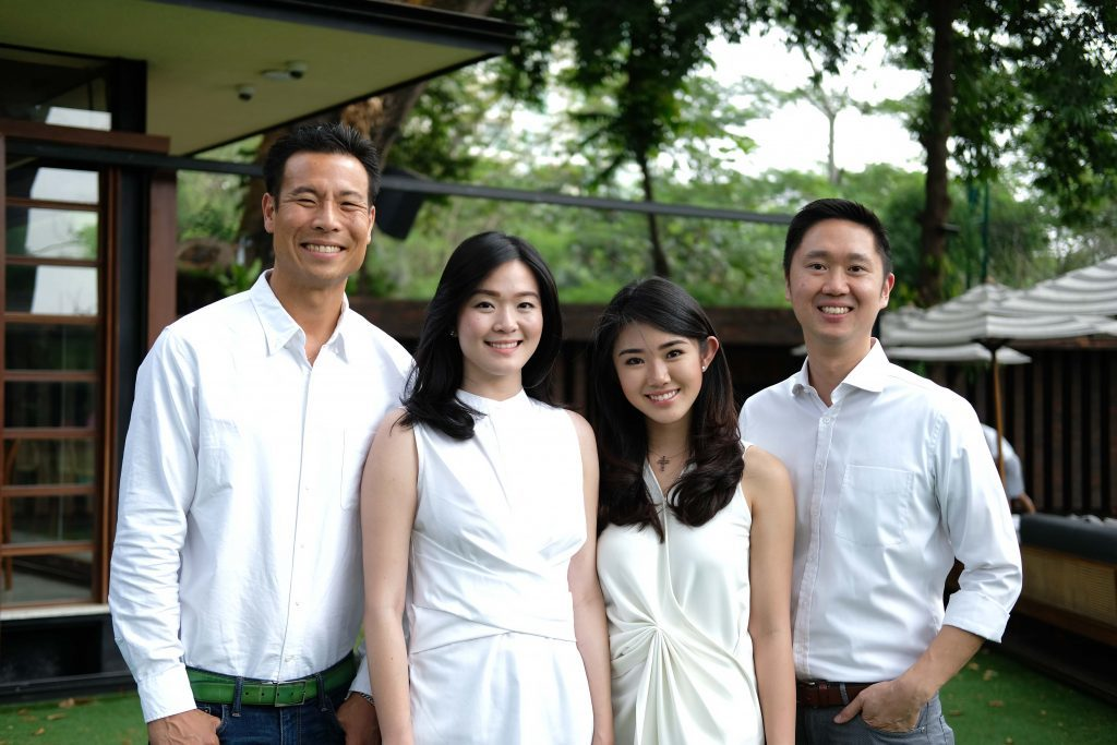 Intudo Ventures' Eddy Chan, Ashley Suhalim, Isaura Tjhiater and Patrick Yip