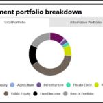 Investment portfolio breakdown of Virginia Retirement System