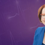 A cut out image of Julia Gillard