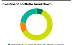 Investment portfolio breakdown of CWMAA