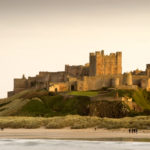 Bamburgh Castle during the day