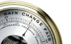Barometer change