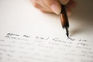 Writing, pen, cursive, write, pen pal, letter