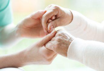 Hospice, caregiver, elderly patient,