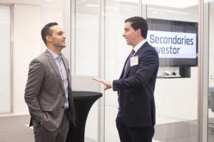 GIC's Jeremy Weisberg chats with Banner Ridge's Tony Cusano
