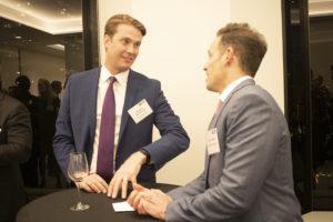 AlpInvest's Matthew Romanczuk with Weil's Brian Parness